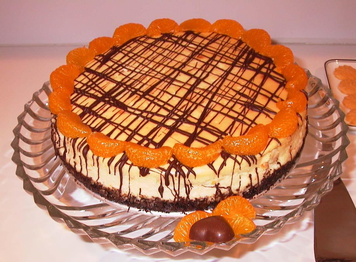 Orange Cheesecake | Bermudaonion's Weblog