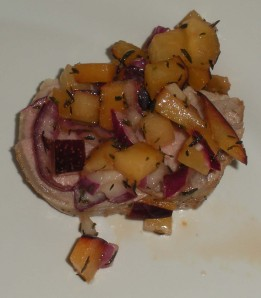 plum-salsa-on-pork-tenderloin