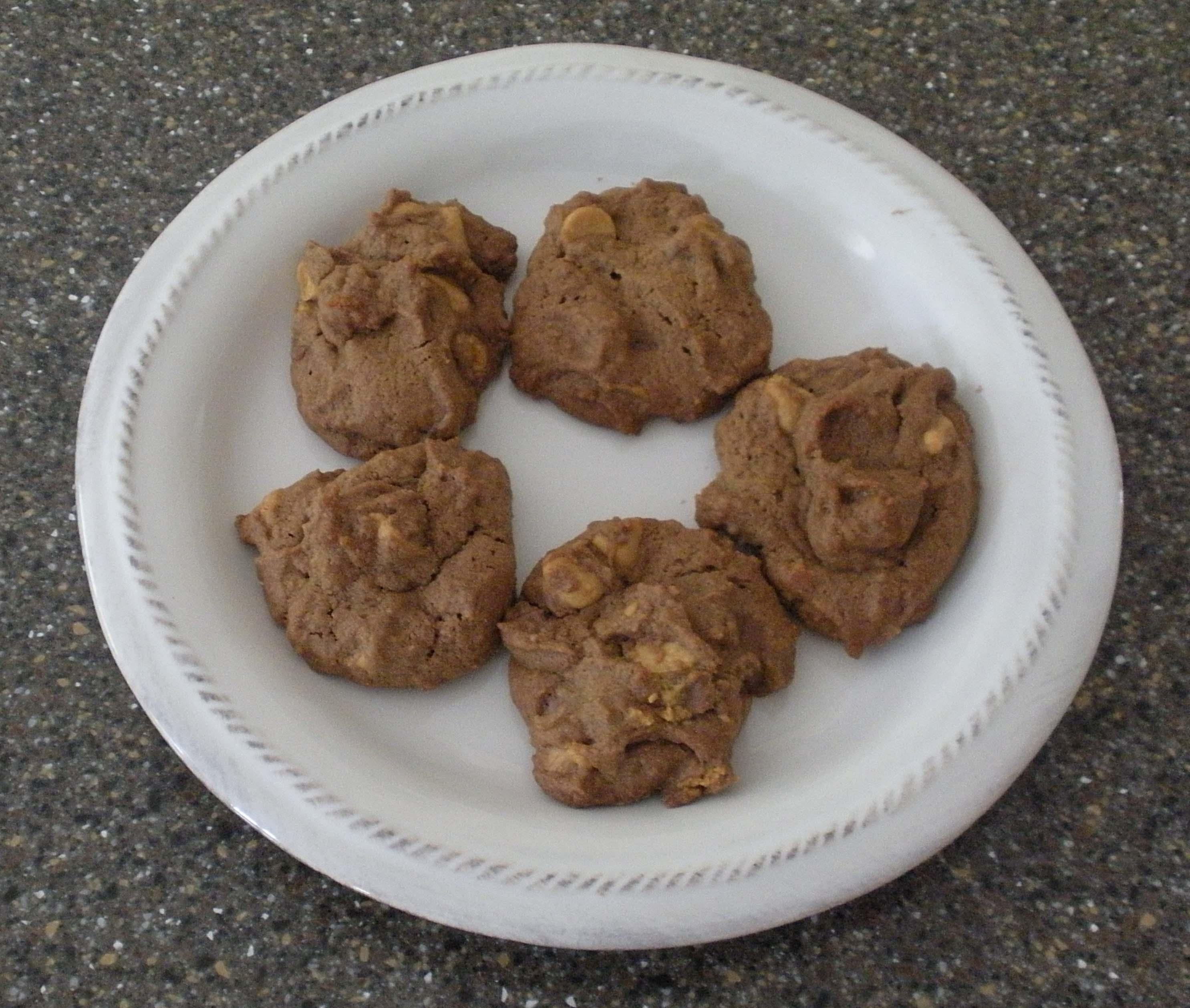 Chocolate Peanut Butter Cup Cookies | Bermudaonion's Weblog