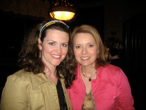 Malena Lott (l) with Tina, her best friend of 22 years