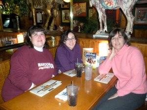 Jaime, Miriam and Kathy