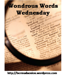 Wondorous Words Wednesday