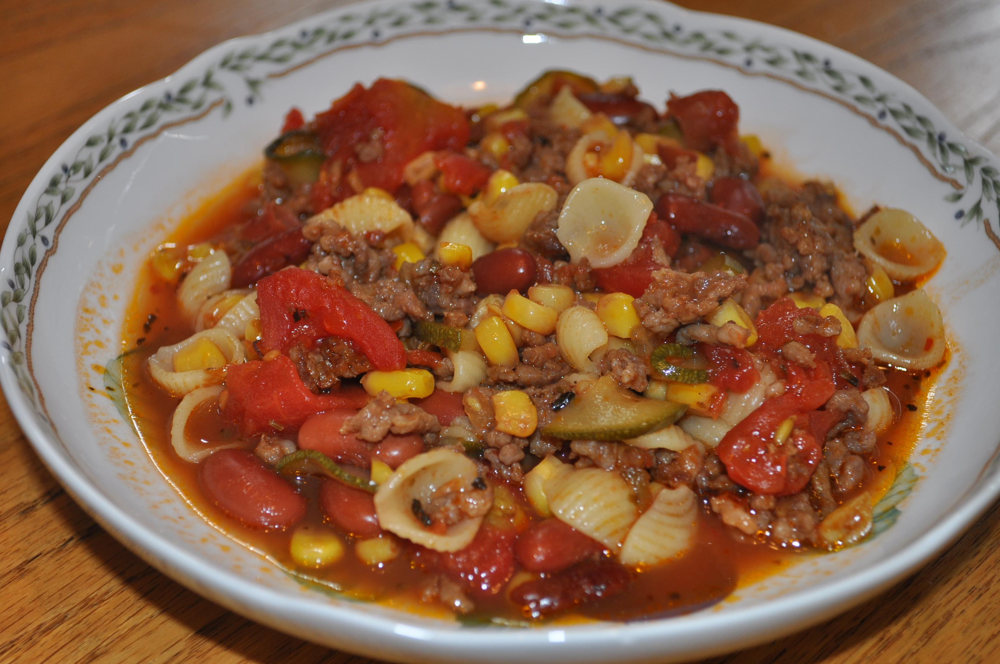 Weekend Cooking: Italian Sausage and Vegetable Stew | Bermudaonion's ...