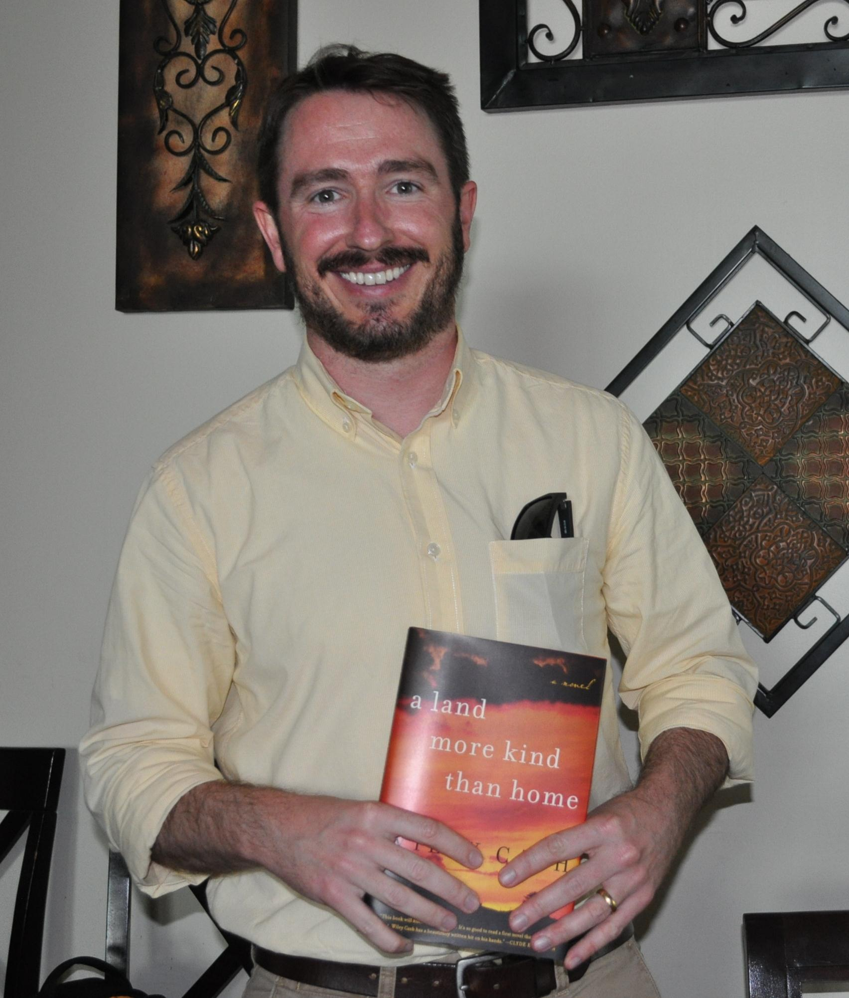 Wiley Cash Was Recently In Town For A Book Your Lunch Event And, After  Meeting Him At Siba Last Year And Reading His Novel, A Land More Kind Than  Home,