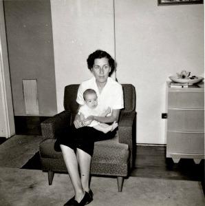 Grammy holding Kathy