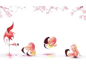 Flora and the Flamingo - Interior Image 2