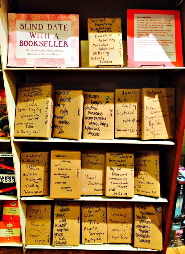 blind date with bookseller books