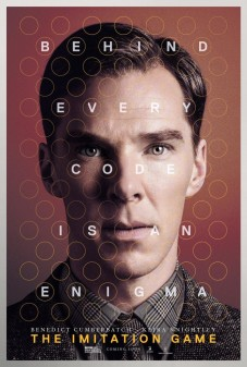 THE IMITATION GAME, US advance poster art, Benedict Cumberbatch as Alan Turing, 2014. © Weinstein