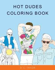 Hot Dudes coloring book